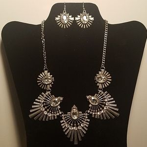 Costume Crystal Necklace